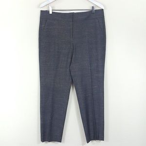 LOFT Julie Fit Slim Straight Dress Pants 10